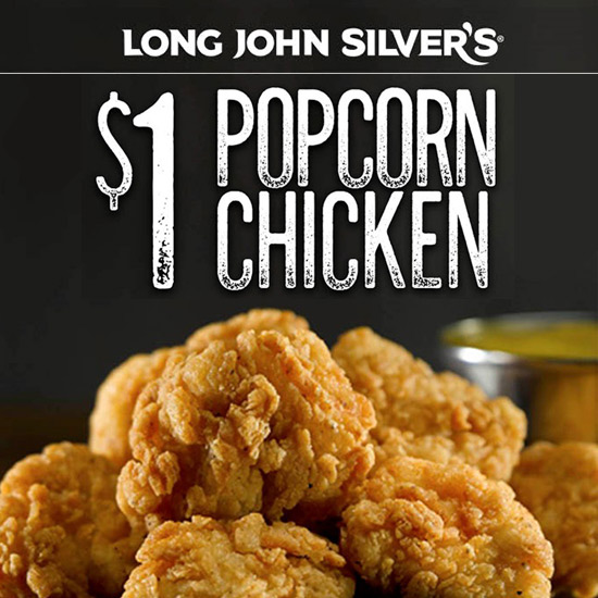 Popcorn Chicken for Just $1