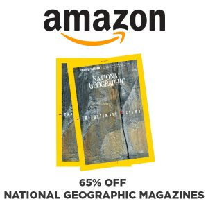 65% Off National Geographic Magazines