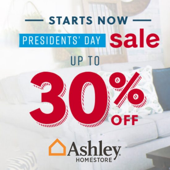 Presidents' Day Sale: Up to 30% Off Sitewide + Special Financing