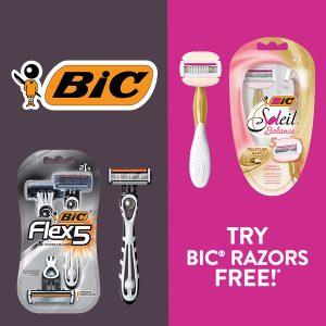 Freebate BIC Razors