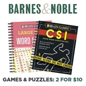 2 for $10 Games & Puzzles