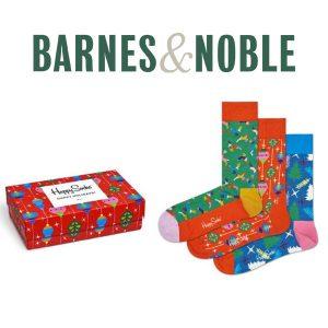 75% Off Happy Socks Men's Retro Holiday 3 Pack Gift Box