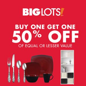 Buy One Get One 50% Off Hundreds of Items