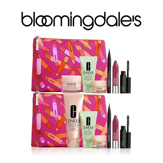 FREE 7-Piece Gift Set Worth $100 w/ Any $29 Clinique Purchase