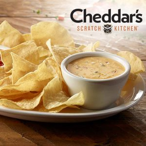Free Chips & Homemade Queso Just for Signing Up