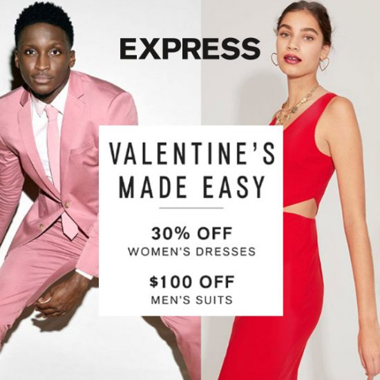 Valentine s Made Easy  30% Off Women s Dresses    100 Off Men s ... aedc331bd