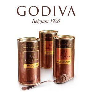 Set of 3 Assorted Hot Cocoa Canisters for Just $33.75