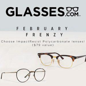 Free Lens Upgrade ($79 Value) on Qualifying Prescription Eyeglass Frames