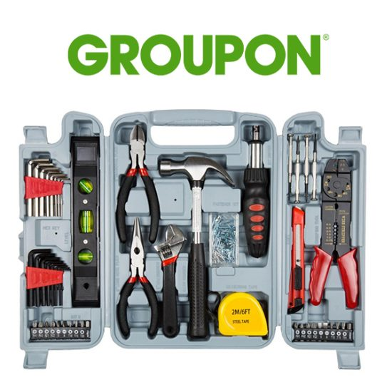 66% Off 130-Piece Hand Tool Set With Carrying Case