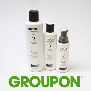 Limited Time Remaining: 55% Off Nioxin 3-Piece Hair System Kit