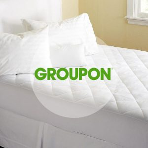 Up to 64% Off Hypoallergenic Quilted Soft Fitted Mattress Pad