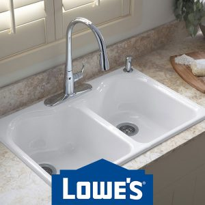 Up to 25% Off Select Kitchen Sinks