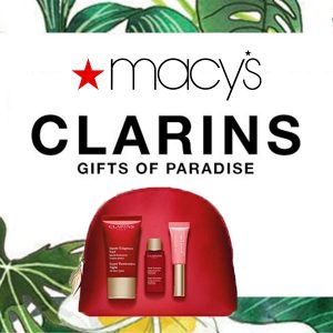 FREE 4-Piece Gift w/ $75 or More Clarins Purchase