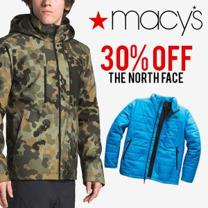 30% Off The North Face Products