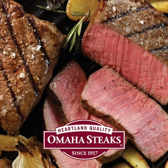 "52% Off ""The Best of Omaha Steaks"" Bundle"