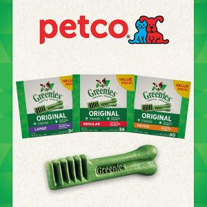 Up to 25% Off Greenies Dental Treats for Dogs