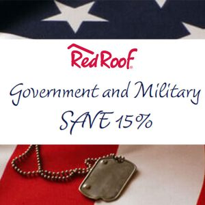 15% Off Discount for Government and Military Personnel