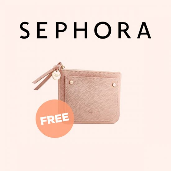 Free Small Pouch With Select Chloe Fragrance Purchase