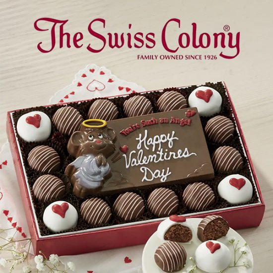 Chocolate Valentine Card With Truffles for Just $29.99