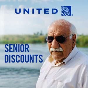 Discounted Airline Travel Fares for Seniors 65 and Older