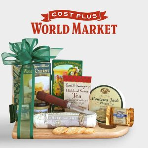 $39.99 for a Complete Cheeseboard Gift Basket
