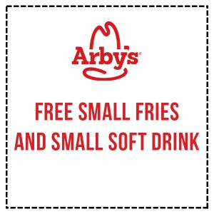 FREE Small Fries and Small Soft Drink
