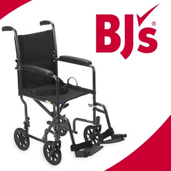 20% Off Drive Medical Lightweight Steel Transport Wheelchair