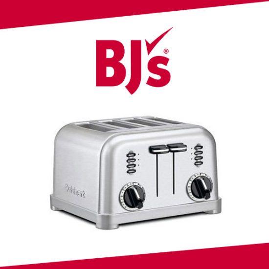 20% Off Cuisinart Stainless Steel 4-Slice Toaster
