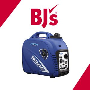 43% Off Ford 2,200W Peak/2,000W Rated Gas-Powered Inverter Generator