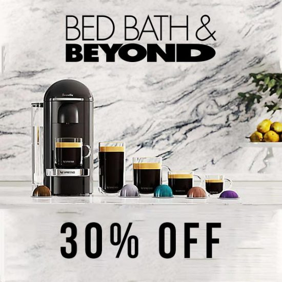 30% Off Nespresso Machines
