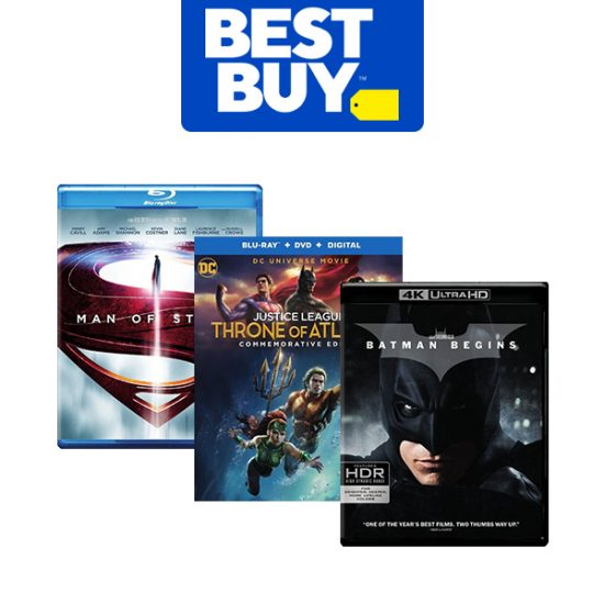 Discount on Select DC Universe Movies
