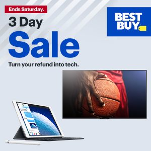 Save on Tech and Electronics in 3-Day Sale