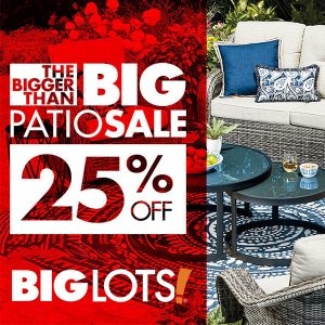 25% Off All Wicker Patio Furniture