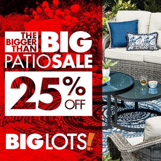 25% Off All Wicker Patio Furniture