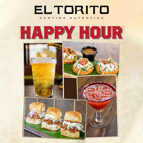 Happy Hour Every Day Starting at 3PM