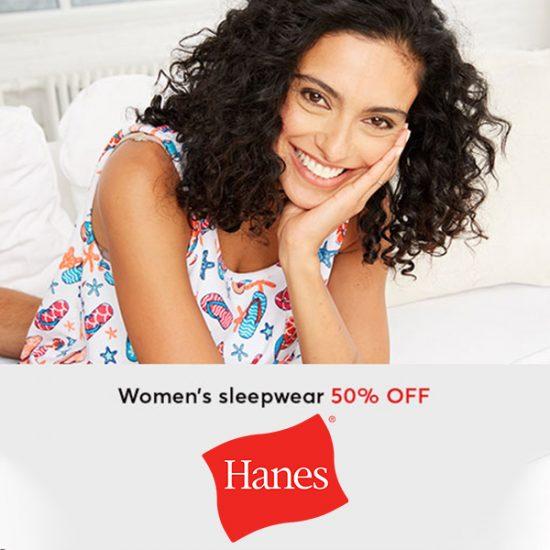 50% Off Women's Sleepwear