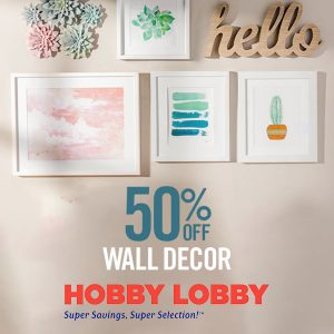 50% Off Wall Décor