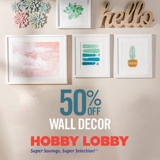 50% Off Wall Décor