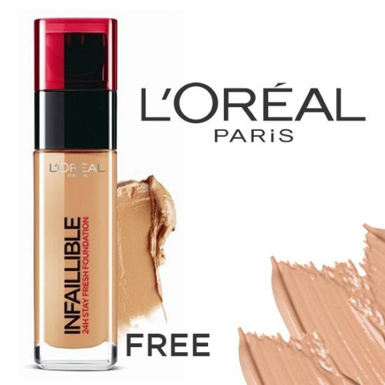 FREE L'Oréal Infallible Foundation Sample