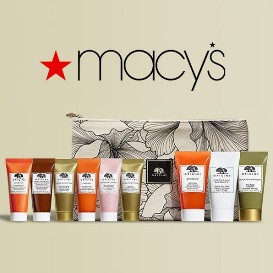 FREE 4-Piece Gift w/ $55 Origins Beauty Product Purchase