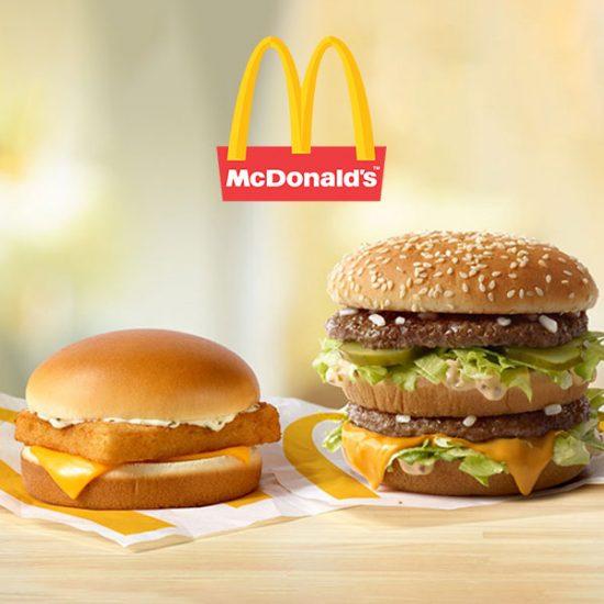 Buy 1 Big Mac or Filet-O-Fish, Get 1 for $0.25
