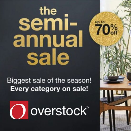 Up to 70% Off + FREE Shipping in Semi-Annual Sale Event