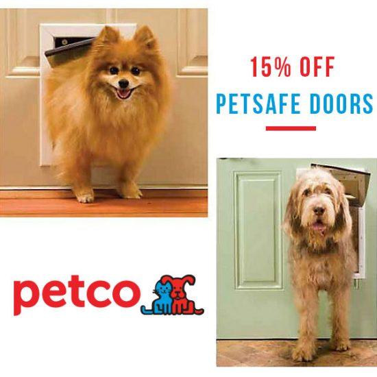 15% Off Petsafe Doors