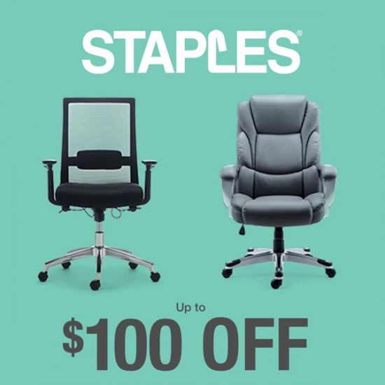 Up to $100 Off Select Chairs