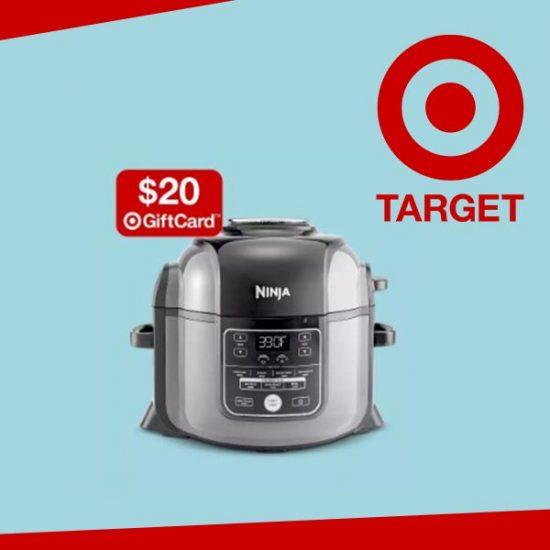 FREE $20 Gift Card w/ Ninja Foodi TenderCrisp Pressure Cooker Purchase