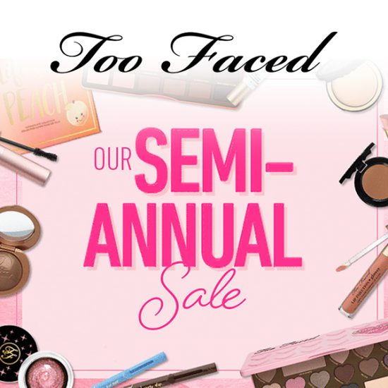 Up to 75% Off Beauty Products in Semi-Annual Sale
