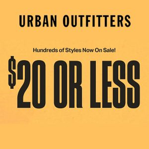 $20 or Less Sale on Hundreds of Clothing, Beauty, Home and Lifestyle Styles