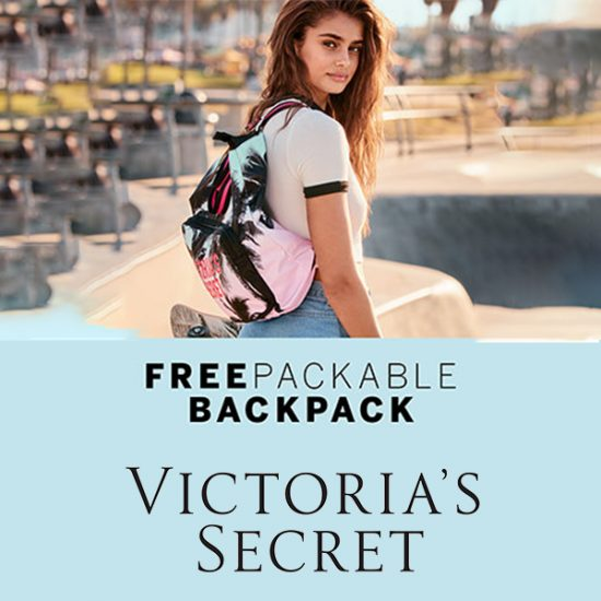 Free Packable Backpack w/ Qualifying Eau de Parfum Purchase