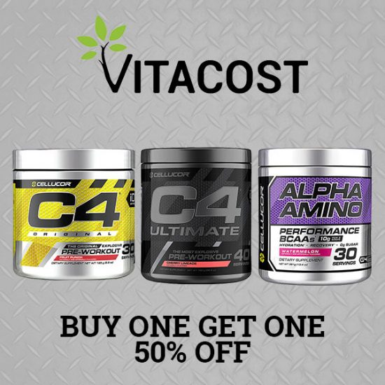 Buy One, Get One 50% Off Select Cellucor