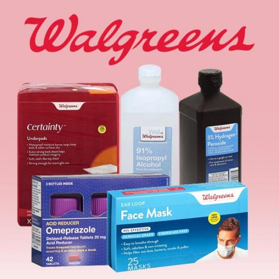 Buy 1, Get 1 50% Off Walgreens Health and Wellness Products